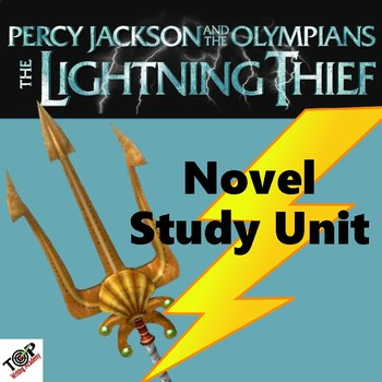 The Lightning Thief Percy Jackson Unit Novel & Literature Study Guide