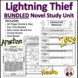 Lightning Thief Novel Activities Super Bundle Unit