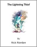 The Lightning Thief -  (Reed Novel Studies)