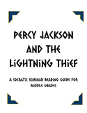 The Lightning Thief - Socratic Seminar Packet