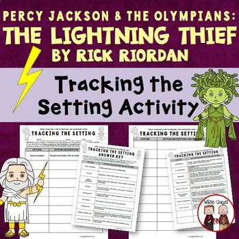 The Lightning Thief Story Setting Activity