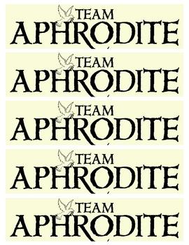 The Lightning Thief - Team Aphrodite Bookmarks
