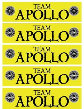 The Lightning Thief - Team Apollo Bookmarks