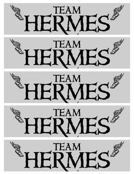 The Lightning Thief - Team Hermes Bookmarks