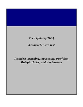 The Lightning Thief - Test
