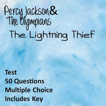 The Lightning Thief Test (50 Question)