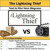 The Lightning Thief - Text to Film Venn Diagram & Written Conclusion