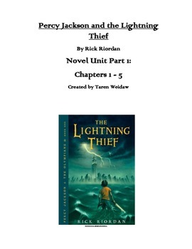 The Lightning Thief Unit Chapters 1-5