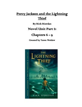 The Lightning Thief Unit Chapters 6-9