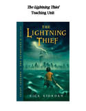 The Lightning Thief Unit Plan: Q&A Tests Activities Quiz Vocab Maps