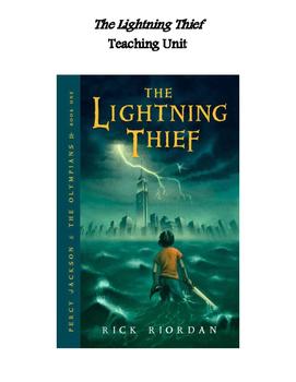 The Lightning Thief Unit Plan: Q&A Tests Activities Quiz Vocab Maps