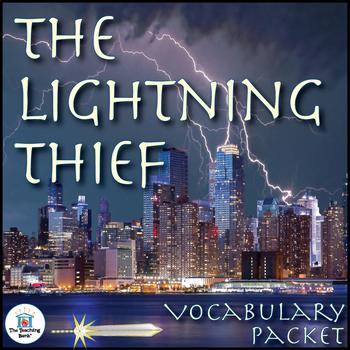 The Lightning Thief Vocabulary Activity Packet