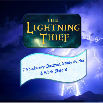 The Lightning Thief Vocabulary Quizzes
