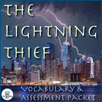 The Lightning Thief Vocabulary and Assessment Packet Bundle