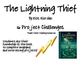"""The Lightning Thief"", by R. Riordan, Project Challenges"