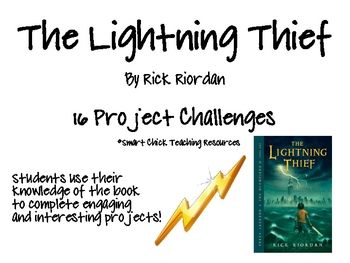 """""""The Lightning Thief"""", by R. Riordan, Project Challenges"""
