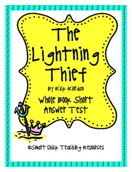 """The Lightning Thief"", by R. Riordan TEST"