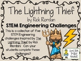 The Lightning Thief by Rick Riordan - STEM Engineering Challenges, Pack of 5