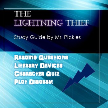 The Lightning Thief lesson plans, study guide and reading questions