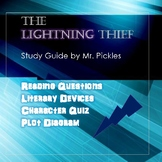 The Lightning Thief lesson plans, study guide and reading