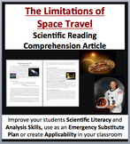 The Limitations of Space Travel - A Science Reading Article