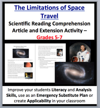The Limitations of Space Travel - Science Reading Article - Grades 5-7