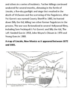 The Lincoln County War Handout