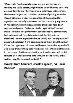 The Lincoln-Douglas Debates 1858 Word Search