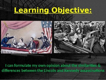 The Lincoln & Kennedy Assassination Conspiracy