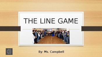 The Line Game Powerpoint