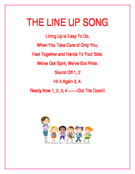 The Lining Up Song