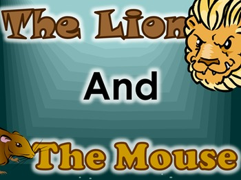 The Lion And The Mouse (Clickable Animated Stories)