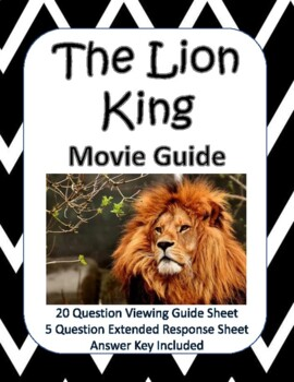 The Lion King (2019) Movie Guide