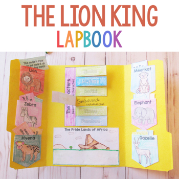 The Lion King Lapbook