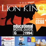 The Lion King Movie Guide | Questions | Worksheet (G - 1994)