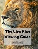 The Lion King: Worksheet