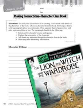 The Lion, The Witch And The Wardrobe Making Cross-Curricular Connections