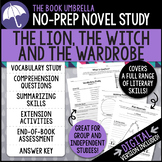 The Lion, The Witch And The Wardrobe Novel Study - Distance Learning