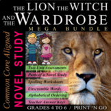 The Lion, The Witch & The Wardrobe, Novel Study + Unit Tes