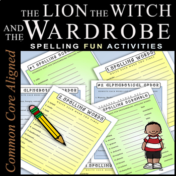 #1 The Lion, the Witch, and the Wardrobe / 180-Page COMPLETE NOVEL STUDY BUNDLE