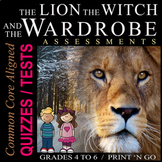 The Lion, the Witch, and the Wardrobe Assessments, Quizzes