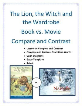 The Lion, the Witch and the Wardrobe Essay Topics & Writing Assignments