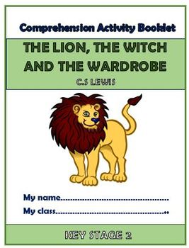The Lion, The Witch, and The Wardrobe Comprehension Activities Booklet!