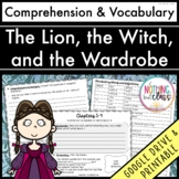 The Lion, the Witch, and the Wardrobe: Comprehension and Vocabulary by chapter