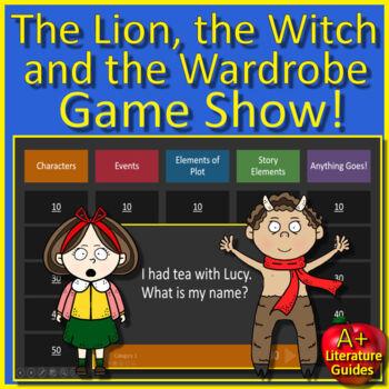 The Lion, the Witch and the Wardrobe Novel Study - FREE Sample!
