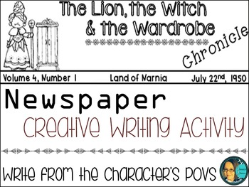 The Lion, The Witch and the Wardrobe by C.S. Lewis-2 Creative Writing Newspapers