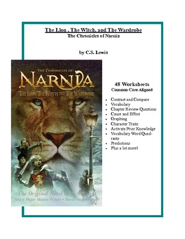 The Lion, The Witch,and The Wardrobe Common Core Aligned