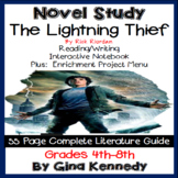 The Lightning Thief Novel Study + Enrichment Project Menu