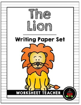 The Lion Writing Paper Set