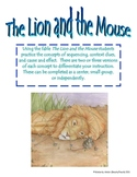 The Lion and The Mouse Skill Activity